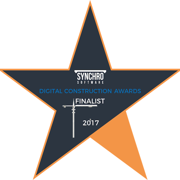 Synchro software digital construction awards finalist 2017 Metisplan London Surrey